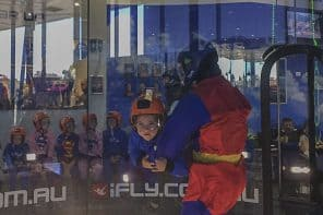 Indoor Skydiving for Kids at iFly Downunder Sydney West
