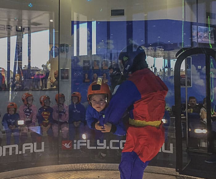 indoor skydiving sydney penrith ifly downunder