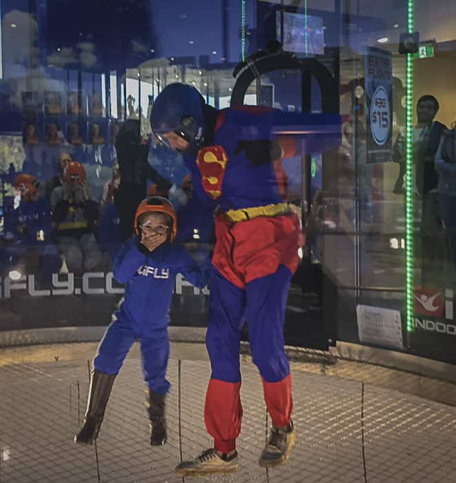 sydney indoor skydiving ifly downunder penrith