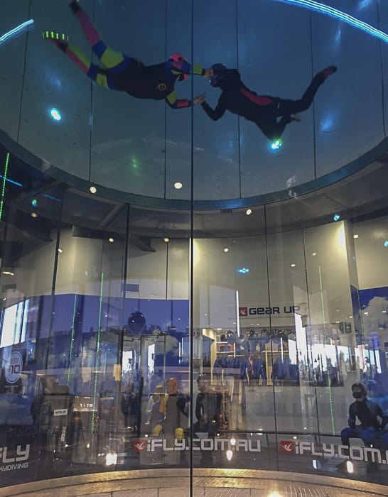 indoor skydiving ifly sydney