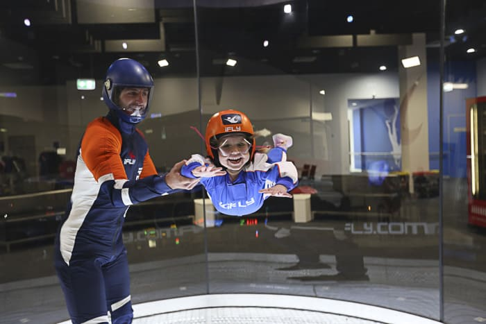 indoor skydiving sydney ifly downunder penrith