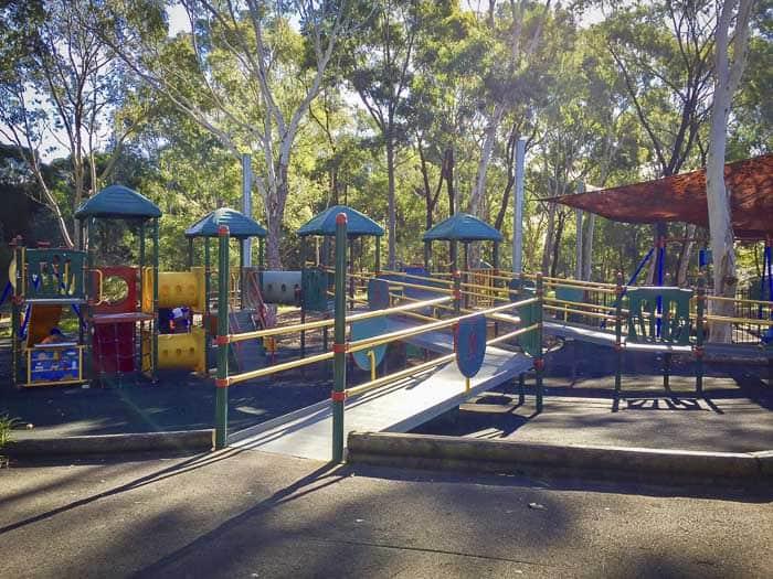 Auburn Botanic Gardens playground