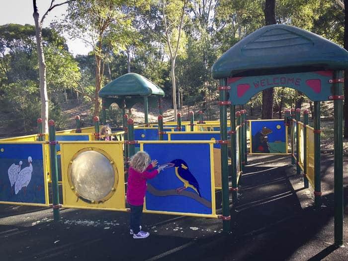 Auburn Botanic Gardens playground_2