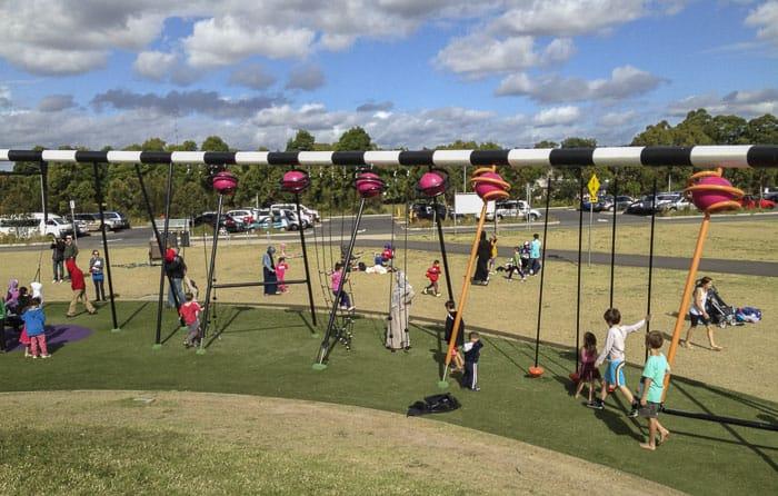 Blaxland Riverside Park and Playground silverwater newington