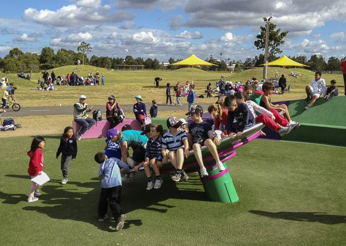 Blaxland Riverside Park Playground Silverwater