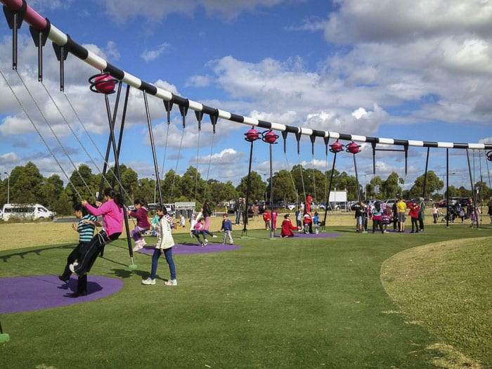 Blaxland Riverside Park and Playground silverwater newington