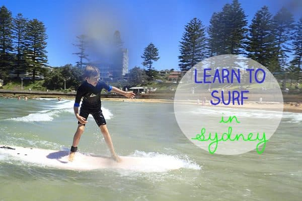 sydney surfing lessons