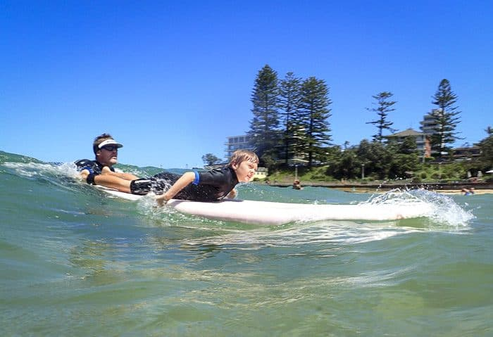 This image has an empty alt attribute; its file name is Sydney-learn-to-surf_2-700x479.jpg