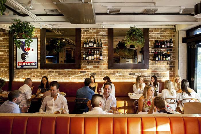 Best Group Dining Spots in Sydney The Italian