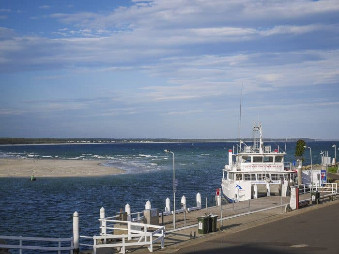 jervis bay cruises jetty