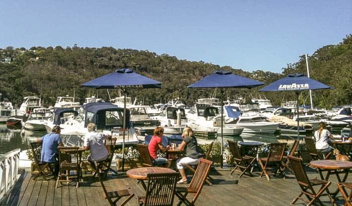 echo on the marina cafe north shore
