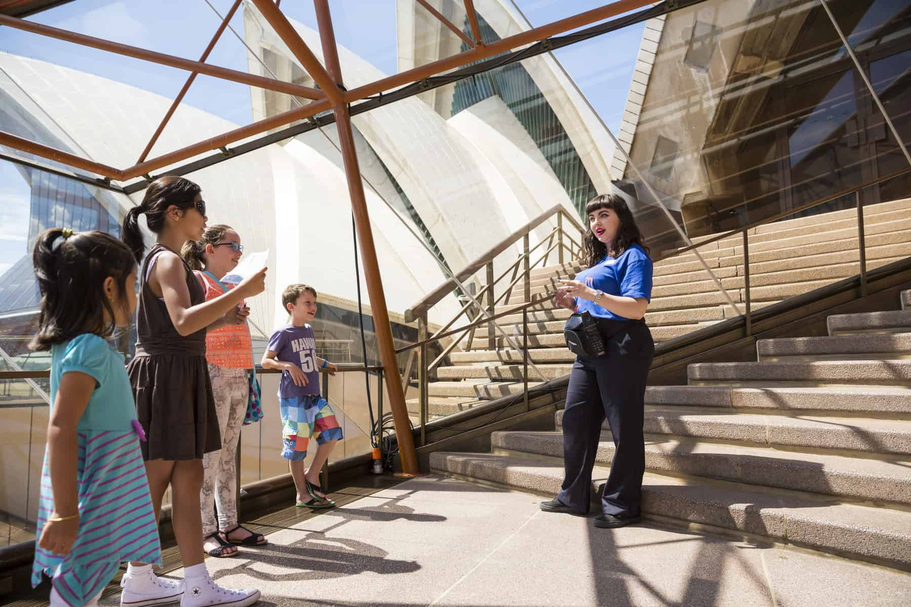 Sydney Opera House kids tours