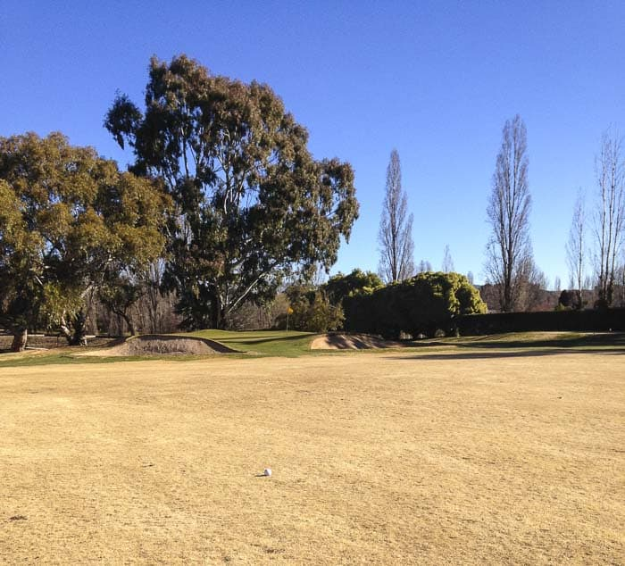 Orange NSW where to play golf