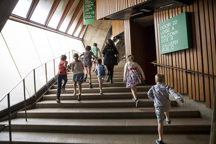 Sydney Opera House children tours