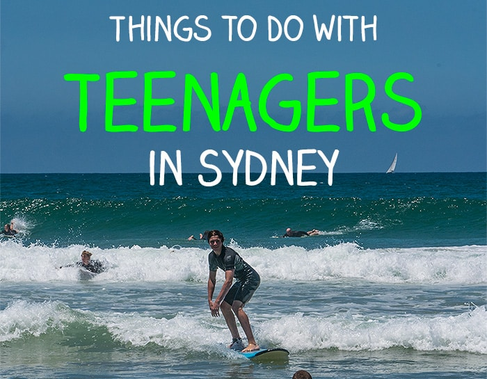 Things to do in Sydney teenagers