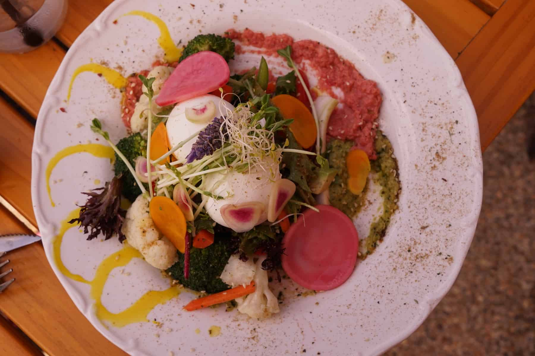 Alkalizer cafe Campbelltown eggs salad
