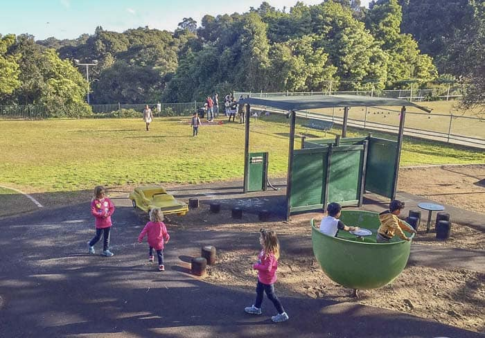 Waverton park merrett playground