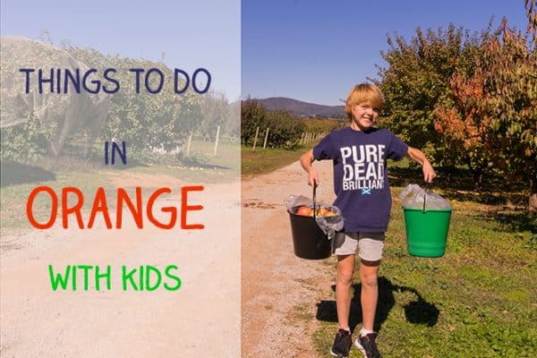 Things to do in Orange NSW with children