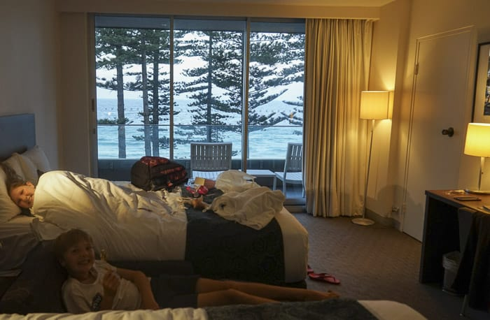 Manly Pacific novotel manly beach family review