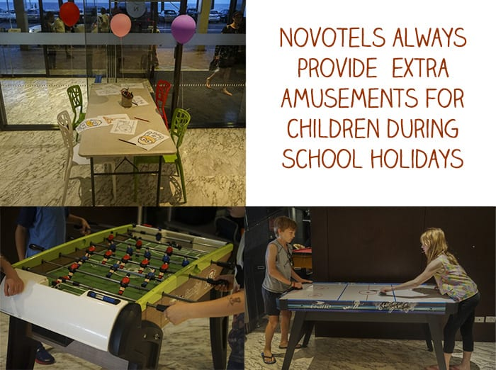 Novotel Manly Pacific kids activities