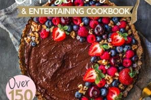 Raw Chocolate Tart Recipe: The Healthy Mummy's Christmas + Entertaining Cookbook