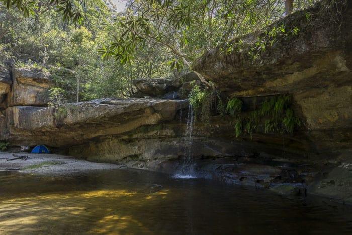 irrawong waterfalls sydney