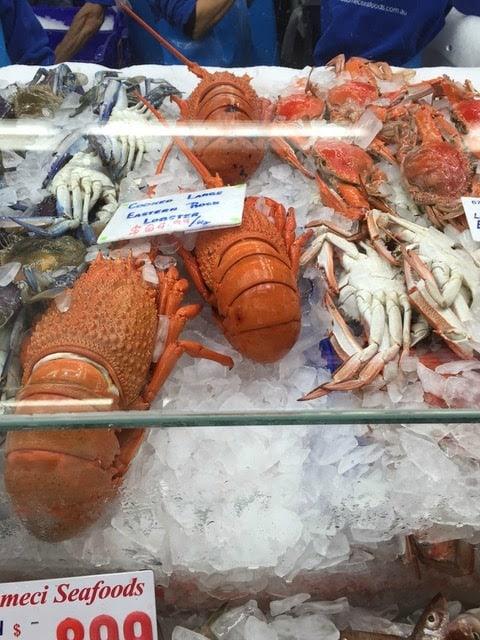 Sydney itinerary - Fish Market