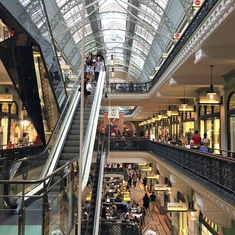 Sydney itinerary - QVB