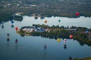Canberra's Balloon Spectacular + Enlighten Festival