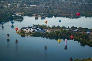 Canberra's Balloon Spectacular + Enlighten Festival