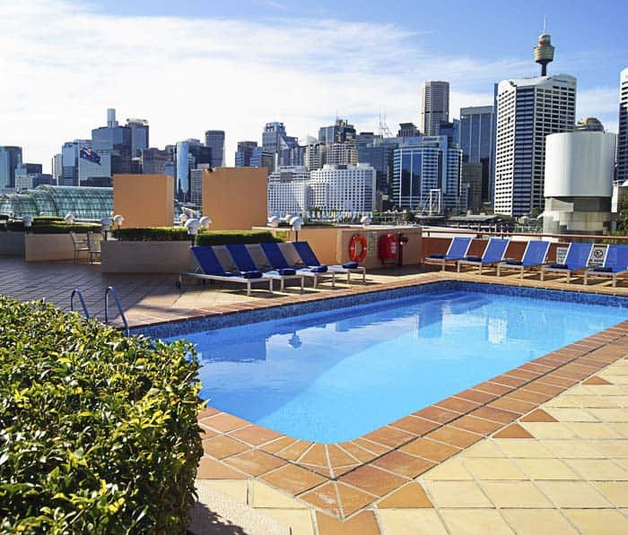 pool at Novotel Sydney on Darling Harbour