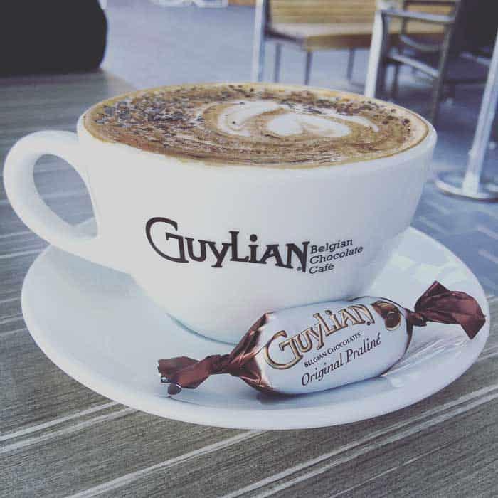 darling harbour chocolate cafe guylian