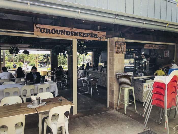 Ryde Park cafe Groundskeeper