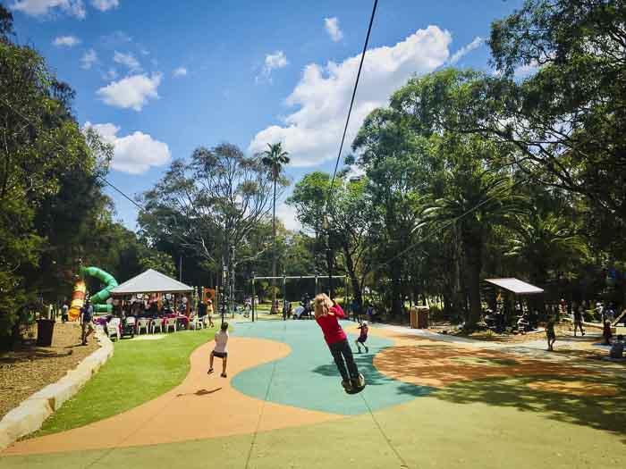 strathfield park playground