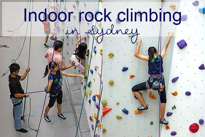 indoor rock climbing sydney gym