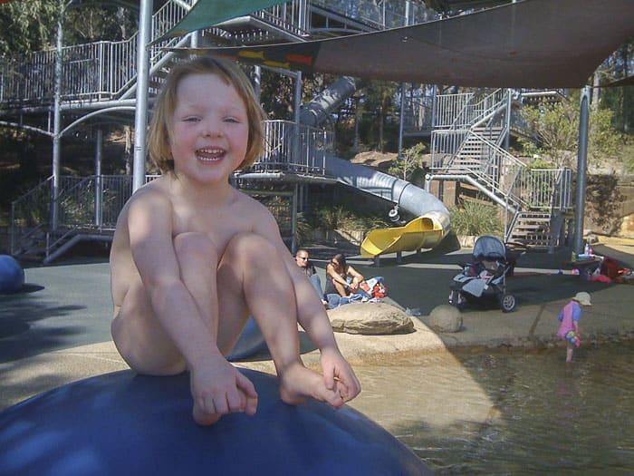 Putney park water playground