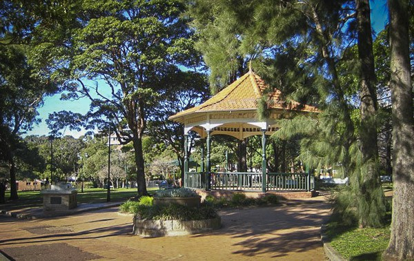Burwood Park Rotunda