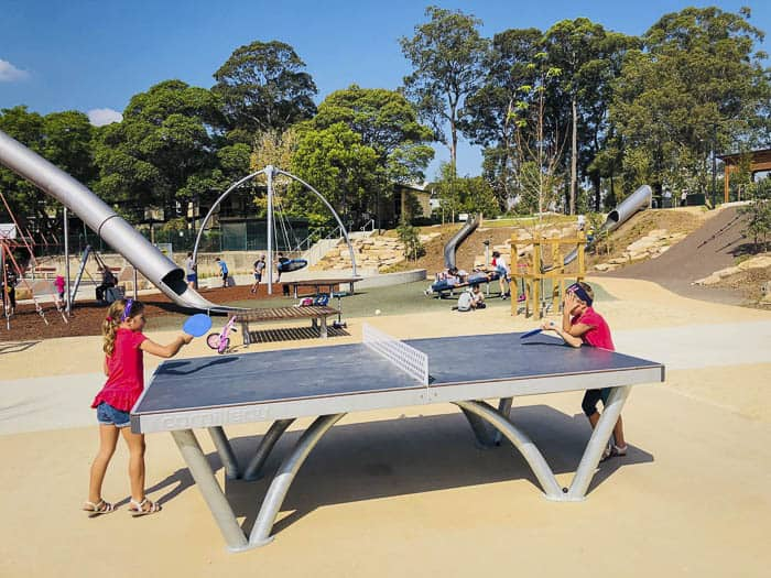 best playgrounds toddlers teenagers sydney