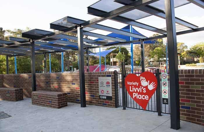 Livvi's place Bankstown playground