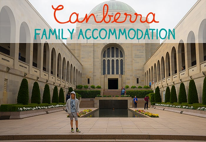 Canberra family accommodation best places to stay