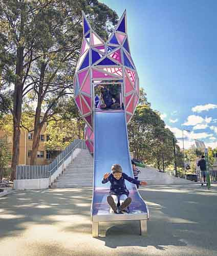 Elouera reserve playground macquarie park