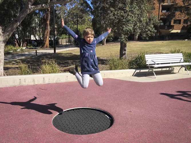 Elouera reserve playground macquarie centre