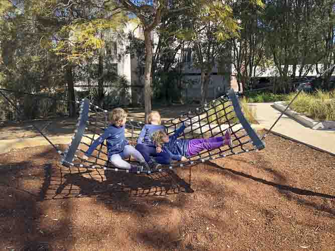 Elouera reserve playground macquarie park