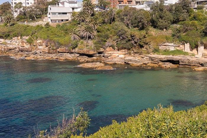 Gordons Bay Australia clear waters