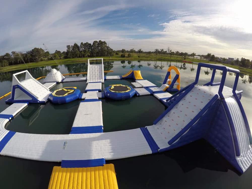 water slides water parks sydney