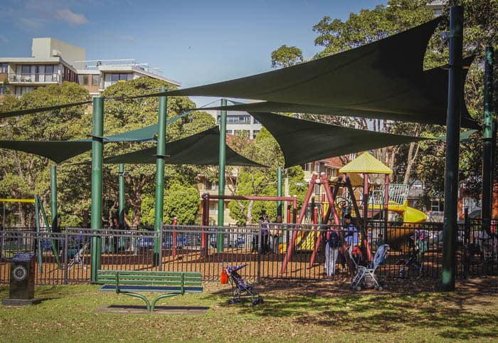Burwood Park playground