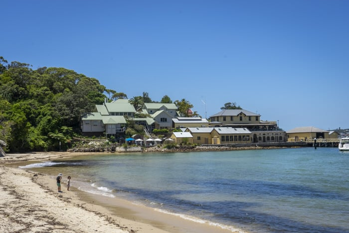 Clifton Gardens beach