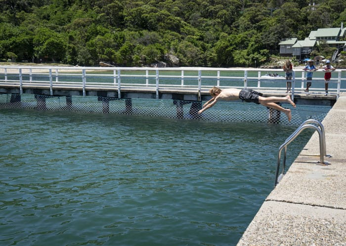 Clifton Gardens swim jetty
