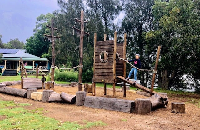central coast playgrounds include this one at Rotary Park