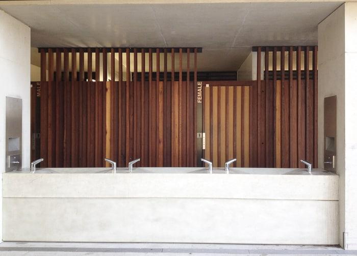 Bathrooms at Pirrama Park